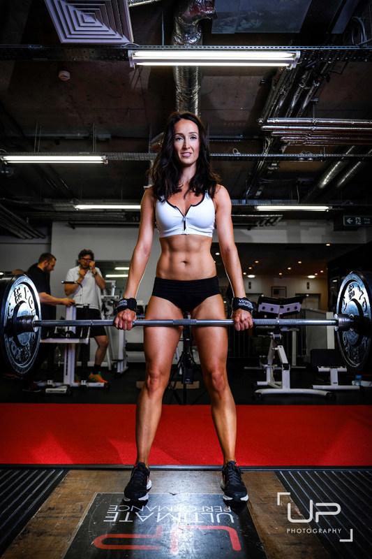 Victoria Ferris training